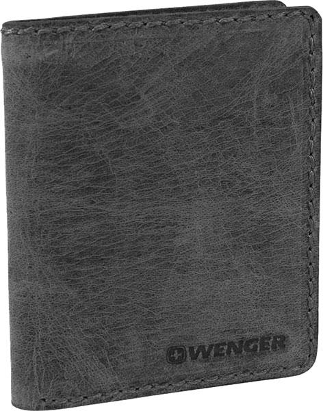 Кошельки бумажники и портмоне Wenger W23-23BLACK кожаные сумки wenger w23 05bl