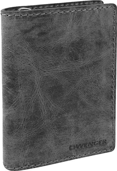 Кошельки бумажники и портмоне Wenger W23-25BLACK цепочка с подвеской navell цвет золотой серебро