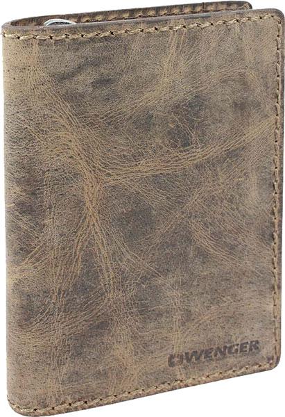 Кошельки бумажники и портмоне Wenger W23-25BROWN кошельки бумажники и портмоне wenger w23 25black