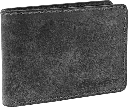 Кошельки бумажники и портмоне Wenger W23-26BLACK кошельки бумажники и портмоне wenger w23 25black