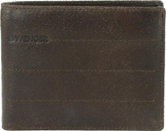 Кошельки бумажники и портмоне Wenger W29-14BR кошельки бумажники и портмоне wenger w23 25black