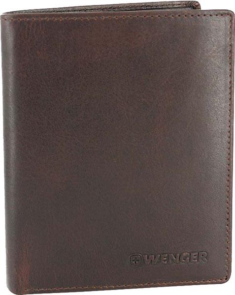 Кошельки бумажники и портмоне Wenger W7-01BROWN  цена и фото