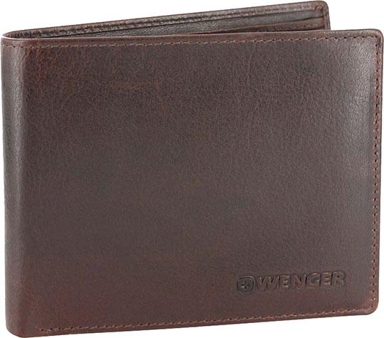 Кошельки бумажники и портмоне Wenger W7-05BROWN wenger business w7 01 w7 01brown