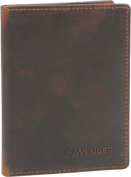 Кошельки бумажники и портмоне Wenger W7-08BROWN бумажник wenger бумажник alphubel w2 04black