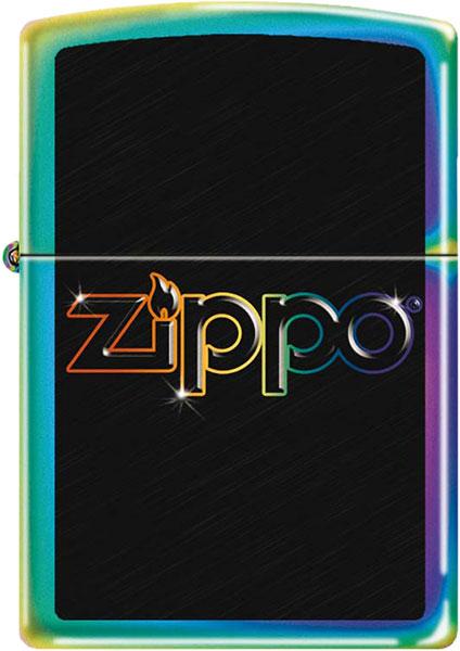 Зажигалки Zippo Z_151-Rainbow-Logo