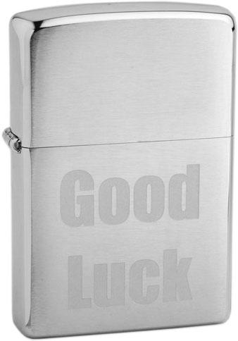 Зажигалки Zippo Z_200-Good-Luck