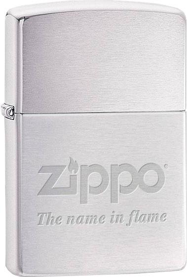 Зажигалки Zippo Z_200-Name-In-Flame
