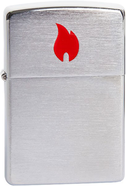 Зажигалки Zippo Z_200-Red-Flame fuse block flame