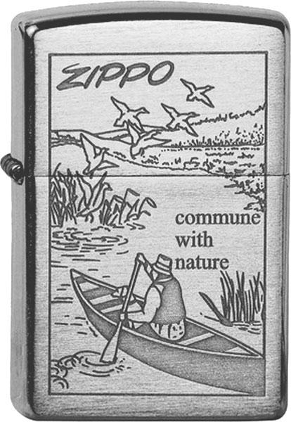 Зажигалки Zippo Z_200-Row-Boat
