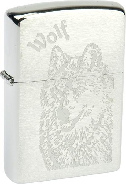 Зажигалки Zippo Z_200-Wolf