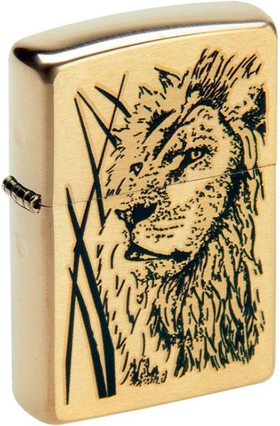 Зажигалки Zippo Z_204B-Proud-Lion