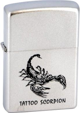 Зажигалки Zippo Z_205-Tattoo-Scorpion