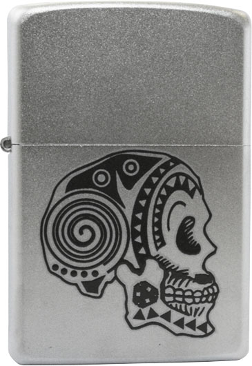 Зажигалки Zippo Z_205-Tattoo-Skull 2016 hot selling professional permanent makeup machine good quality eyebrow makeup tattoo pen microblading pen tattoo machine