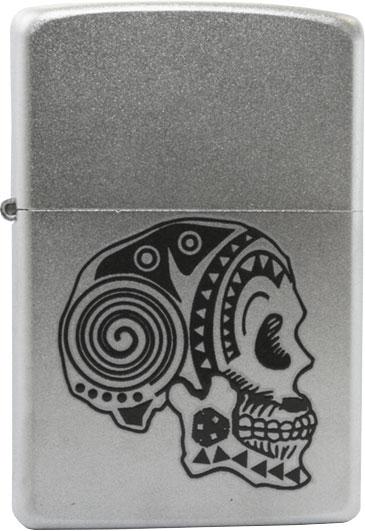 Зажигалки Zippo Z_205-Tattoo-Skull