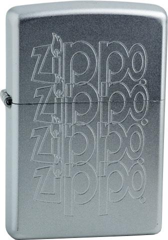 кремень zippo 6 шт 2406n Зажигалки Zippo Z_205-Zippo-Logo
