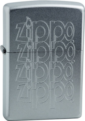Зажигалки Zippo Z_205-Zippo-Logo zippo