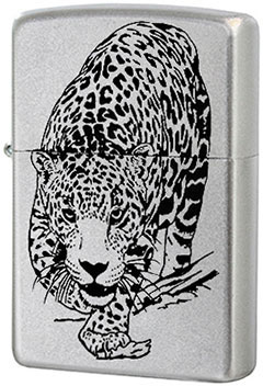 Зажигалки Zippo Z_205-leopard stylish leopard pattern square shape flax pillowcase without pillow inner