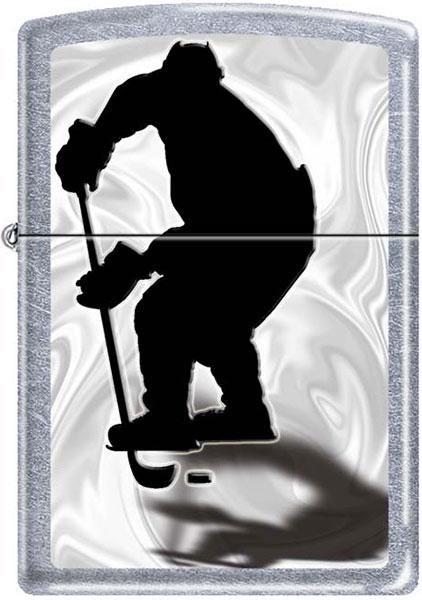 Зажигалки Zippo Z_207-Hockey