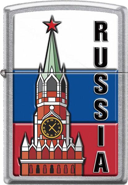 Зажигалки Zippo Z_207-Kremlin-Flag-Russia