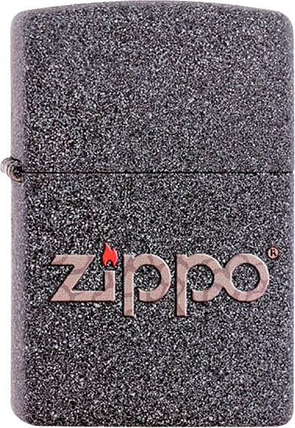 кремень zippo 6 шт 2406n Зажигалки Zippo Z_211-Snakeskin-Zippo-Logo