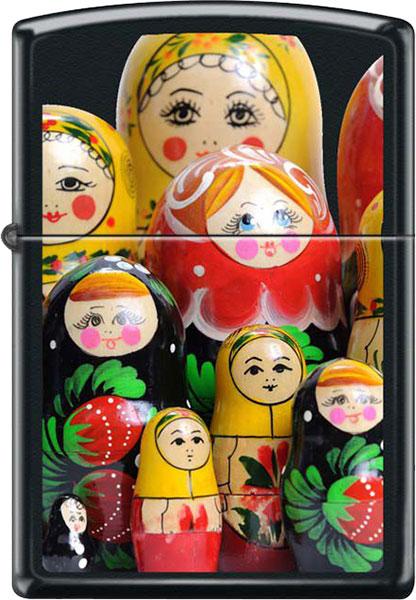 Зажигалки Zippo Z_218-Matroshka-Doll