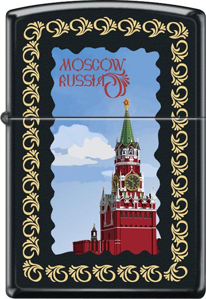 Зажигалки Zippo Z_218-Moscow-Kremlin-Framed