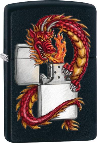 Зажигалки Zippo Z_218-Oriental-Dragon