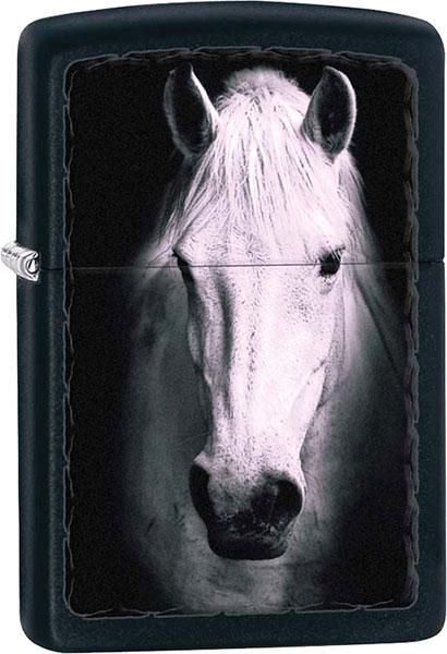 Зажигалки Zippo Z_218-White-Horse