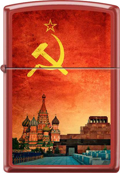 Фото «Бензиновая зажигалка Zippo Z_233-Soviet-Design»