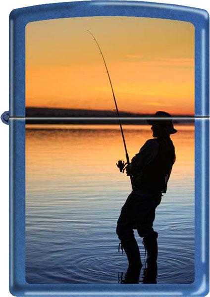 Зажигалки Zippo Z_24534-Fisherman