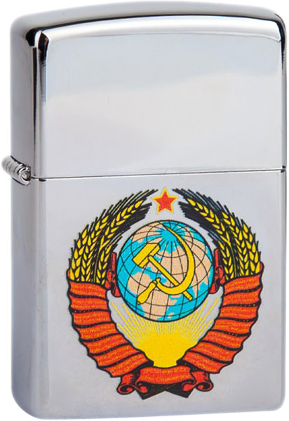 Зажигалки Zippo Z_250-Gerb-SSSR