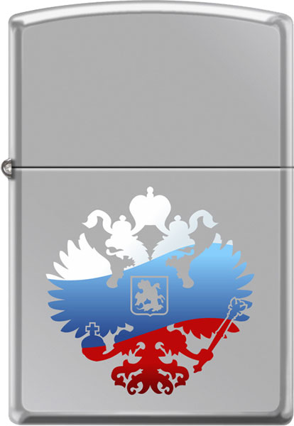Зажигалки Zippo Z_250-Russian-Coat-Of-Arms