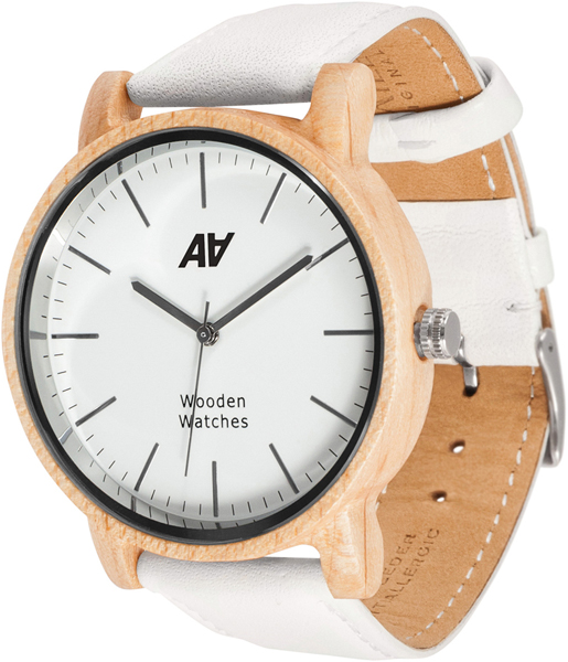 Женские часы AA Watches V1-Maple-Wh aa wooden watches s1 brown aa wooden watches