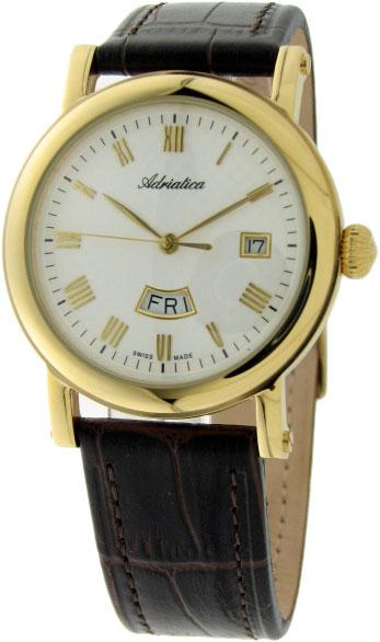 Мужские часы Adriatica A8244.2233Q Мужские часы Adriatica A1196.1261Q