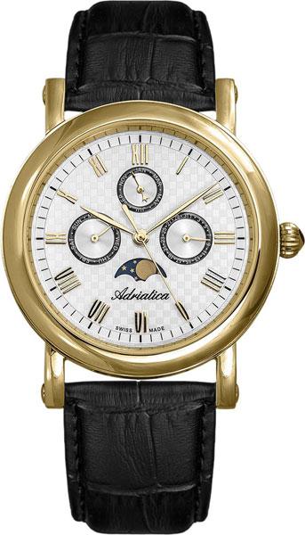 лучшая цена Мужские часы Adriatica A1023.1233QF