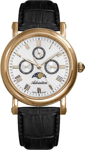 купить Мужские часы Adriatica A1023.9233QF по цене 10490 рублей