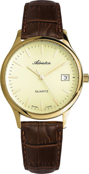 где купить Мужские часы Adriatica A1055.1211Q по лучшей цене