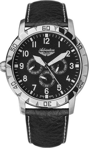 Мужские часы Adriatica A8254.9257Q Женские часы Boccia Titanium 3237-03