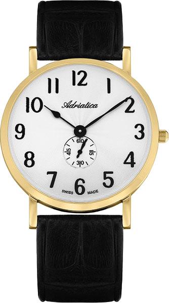 Мужские часы Adriatica A1113.1223Q дизайн панков турецкий браслеты для глаз для мужчин женщины новая мода браслет женский сова кожаный браслет камень