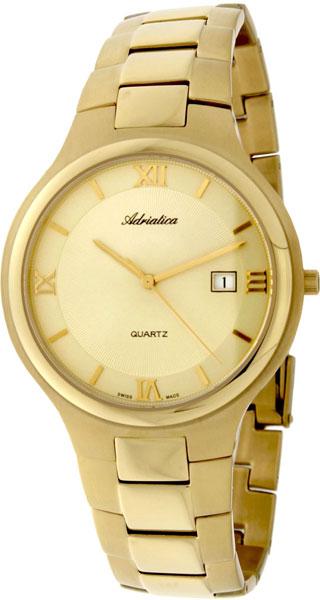 Фото - Мужские часы Adriatica A1114.1161Q бензиновая виброплита калибр бвп 13 5500в