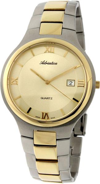 Фото - Мужские часы Adriatica A1114.2161Q бензиновая виброплита калибр бвп 13 5500в