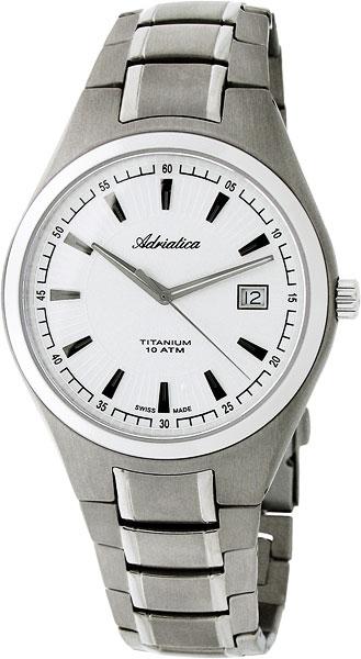 лучшая цена Мужские часы Adriatica A1137.4113Q