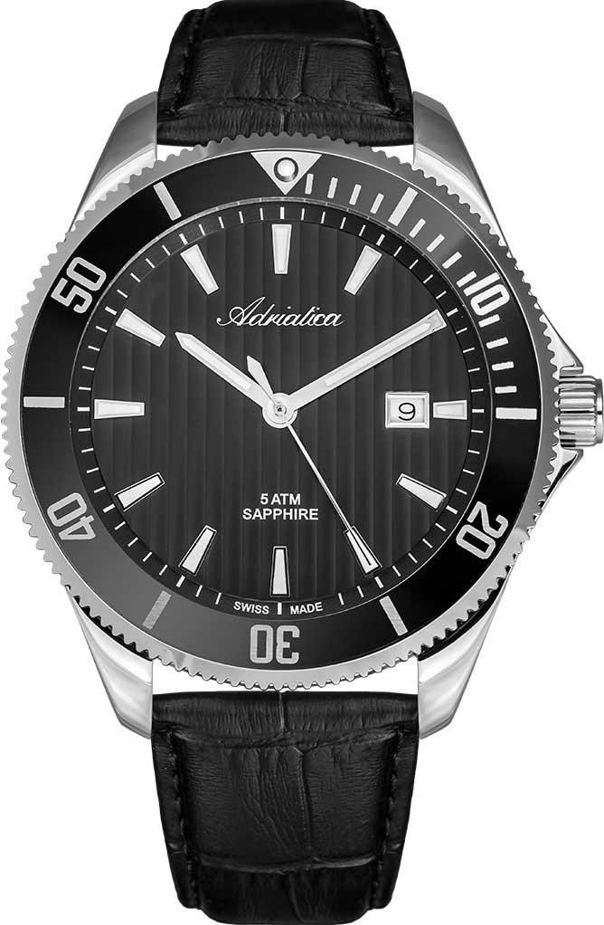 Фото - Мужские часы Adriatica A1139.5214QN мужские часы adriatica a1284 5163q