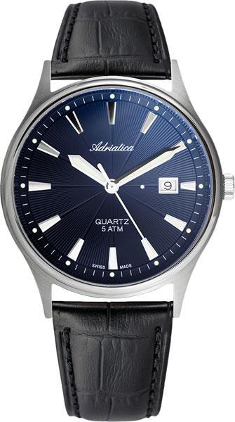цена Мужские часы Adriatica A1171.4215Q онлайн в 2017 году