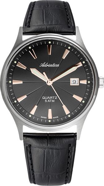 Мужские часы Adriatica A1171.R214Q adriatica часы adriatica 1171 4213q коллекция titanium