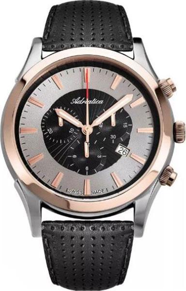 Мужские часы Adriatica A1191.R214CHN часы adriatica a1191 r213ch