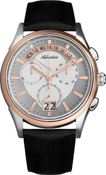 Мужские часы Adriatica A1193.R213CH цена