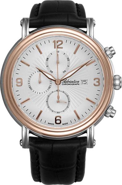 Фото «Швейцарские наручные часы Adriatica A1194.R253CH с хронографом»