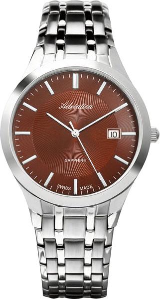 лучшая цена Мужские часы Adriatica A1236.511GQ