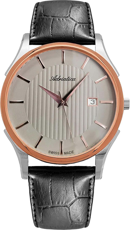 Фото - Мужские часы Adriatica A1246.R217Q мужские часы adriatica a1246 5217q